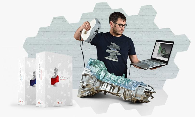 Artec Eva & Spider professzionális 3D szkennerek