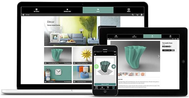 Cubify alkalmazás a 3DSystems gépeihez
