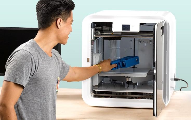 CubePro advanced desktop 3D printer