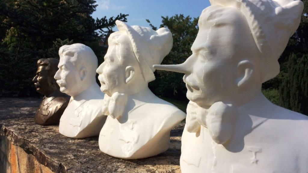 3d nyomtatott szobrok