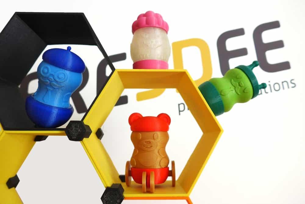 3d nyomtatott játékok