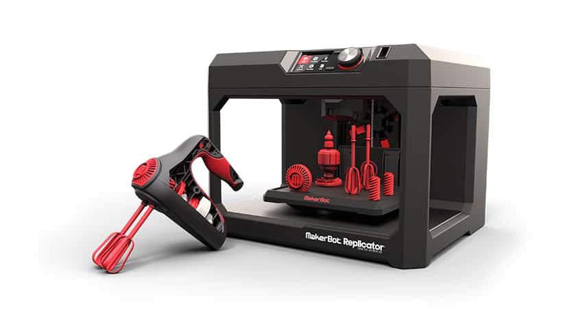 makerbot replicator 3d nyomtató