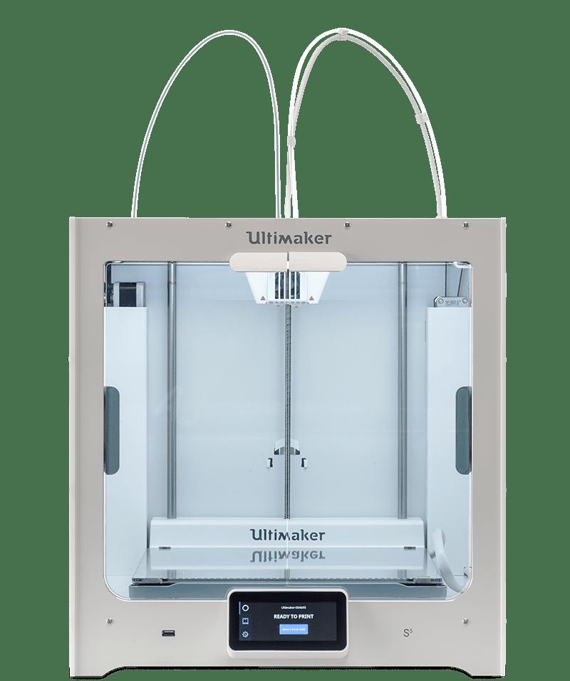 Ultimaker S5 nagyformátumú, kétfejes 3D nyomtató