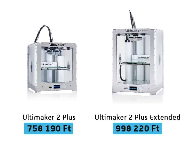 ultimaker 3D nyomtatók
