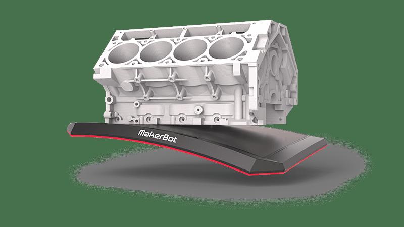 Flexible Build Plate V8 Engine