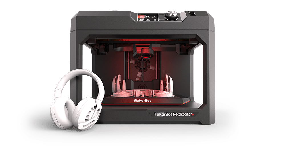 Replicator  with Assembled Headphone Print