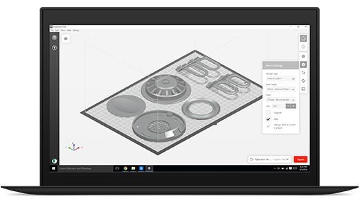 makerbot-print szoftver