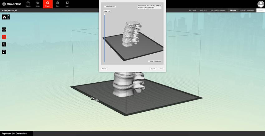 3D nyomtatás előkészítése
