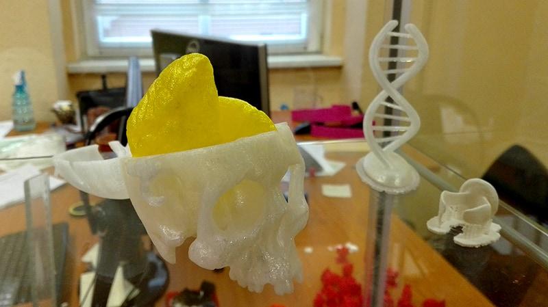 3D nyomtatott középiskolai modellek