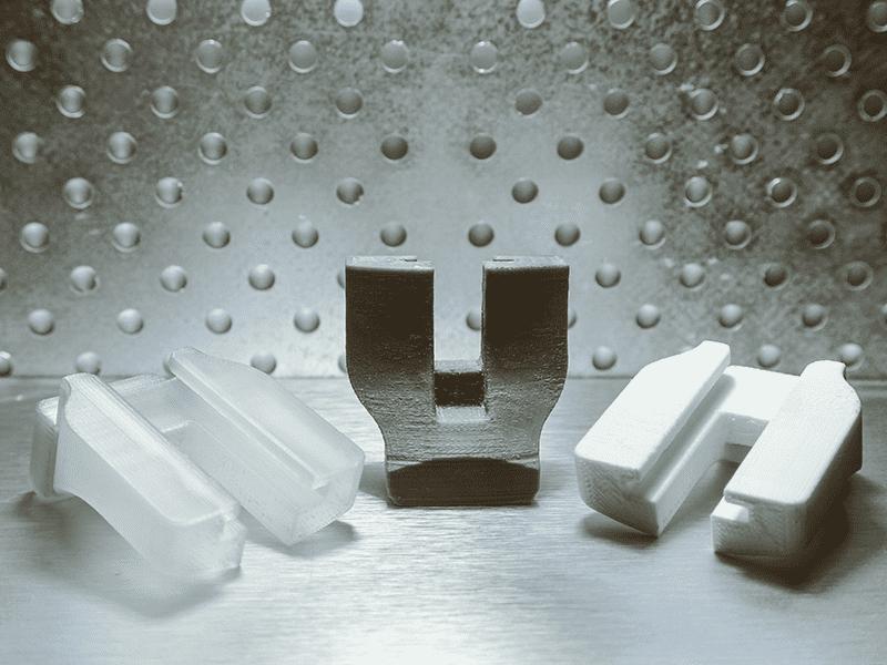 3D nyomtatott beütő sablonok sterilizálás előtt