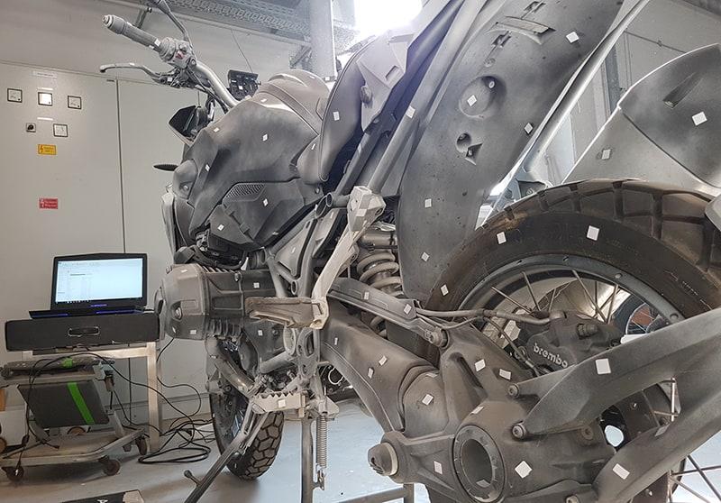 Motor 3D szkennelése