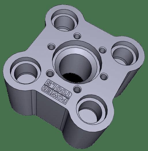 Protoszerszám 3D modellje