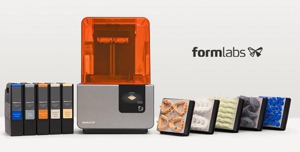 Formlabs Form 2 precíz fogászati 3D nyomtató