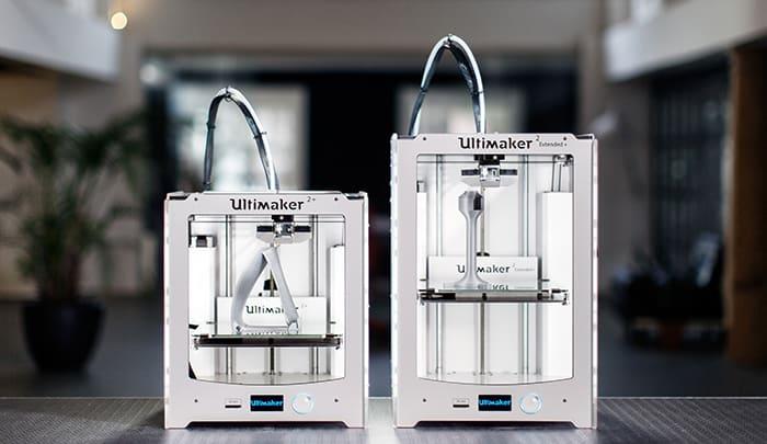 Ultimaker 2+ és Ultimaker 2+ Extended 3D nyomtatók