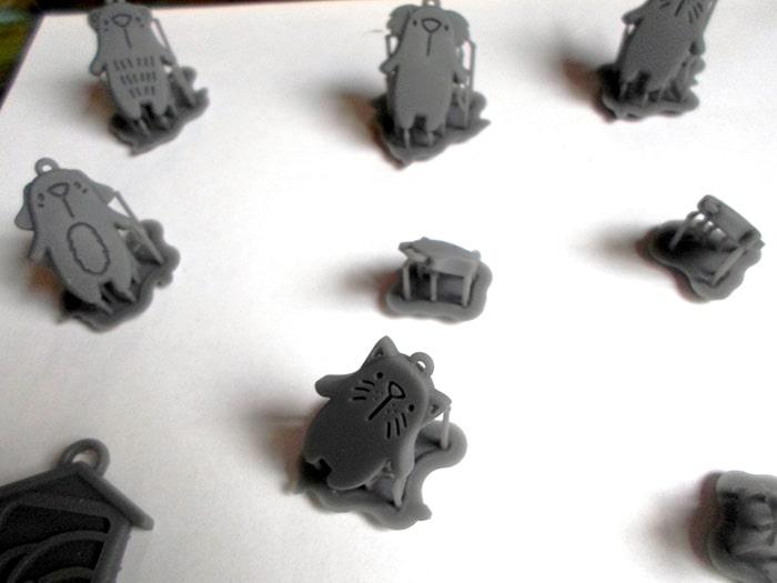3D nyomtatott medálok