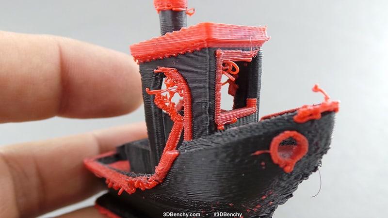 Elhibázott 3D nyomtatás