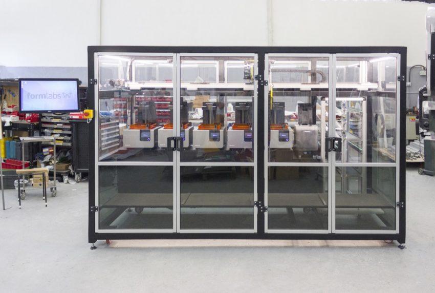 Form Cell automatizált 3D nyomtatórendszer