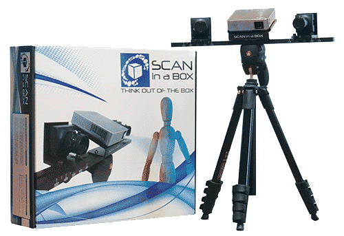 Scan in a Box 3D szkenner