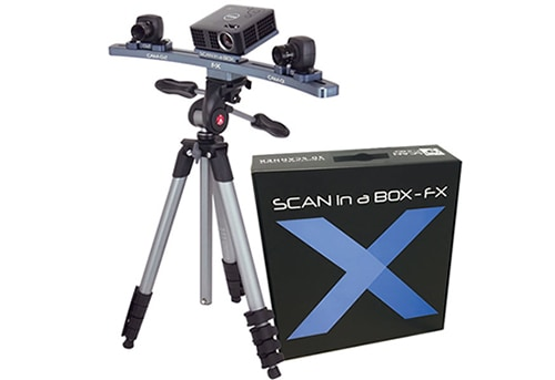 Scan in a Box-FX 3D szkenner