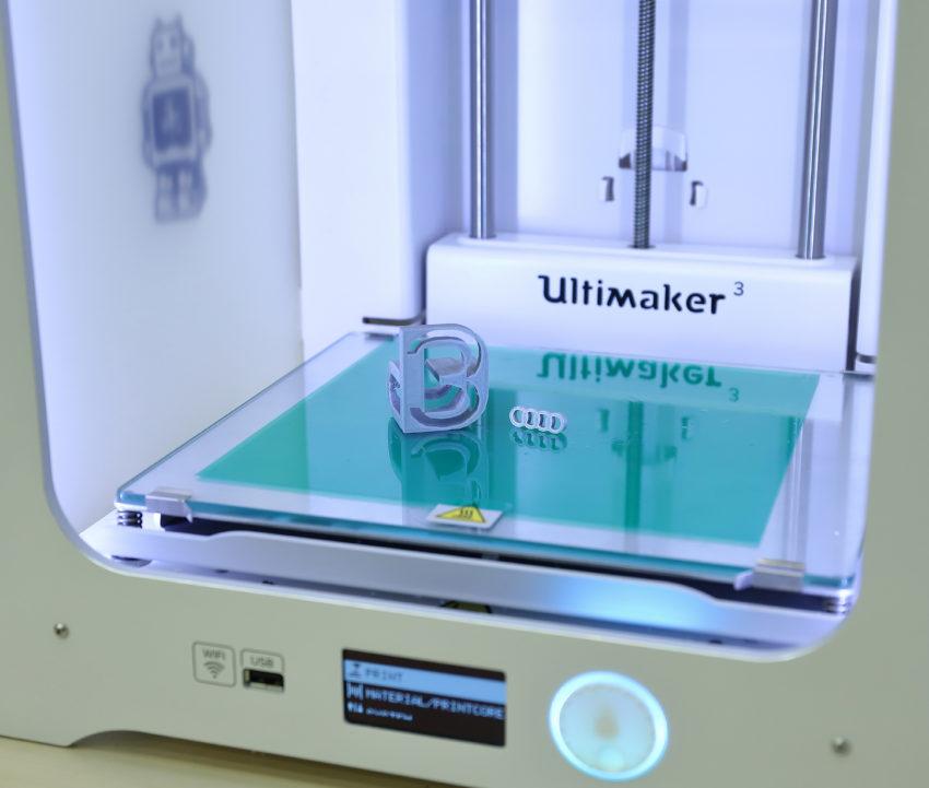 Ultimaker 3 kétfejes 3D nyomtató
