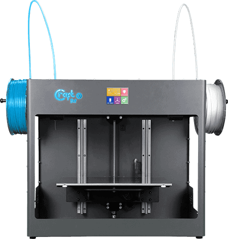 CraftBot 3 kétfejes 3D nyomtató