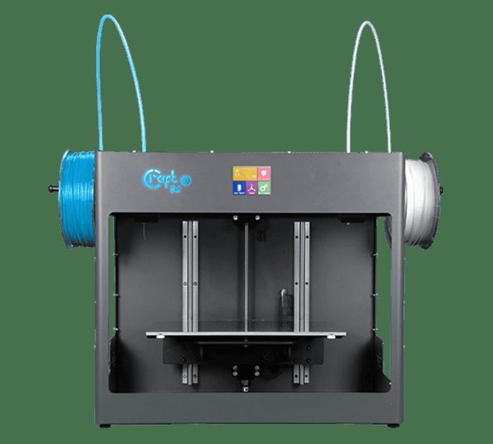 Craftbot 3 két független fejes 3D nyomtató