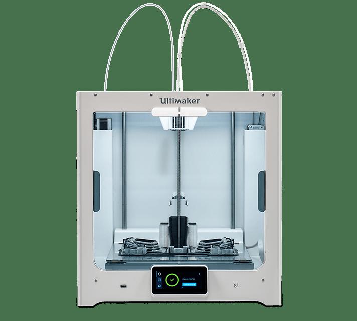 Ultimaker S5 nagyformátumú kétfejes FDM 3D nyomtató