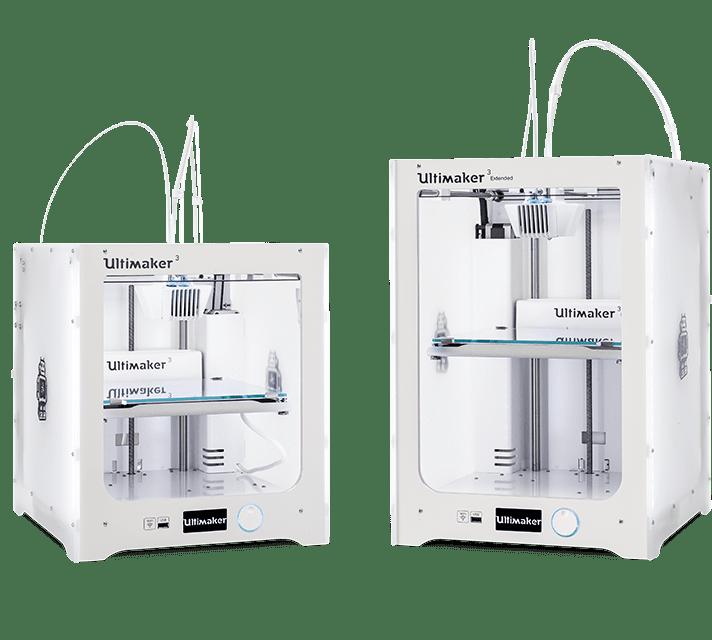Ultimaker 3 Extended kétfejes FDM 3D nyomtató