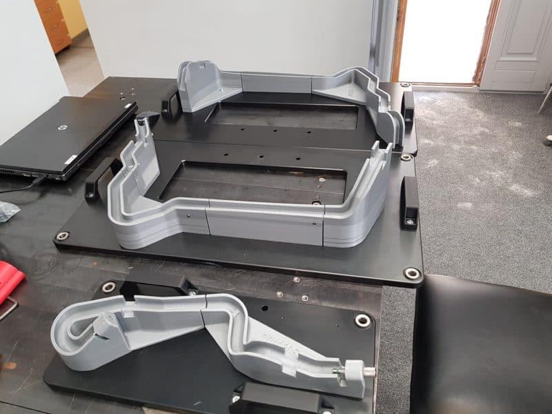 3D nyomtatott ellenőrző sablon