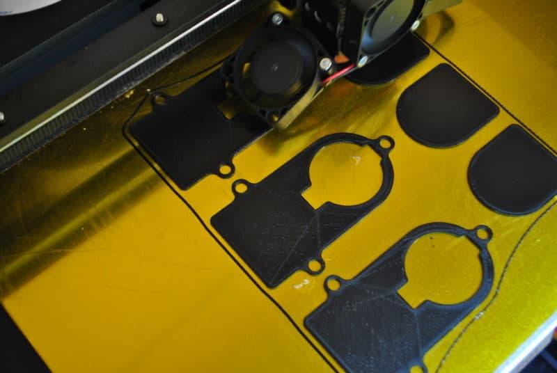 3D nyomtatott porvédő