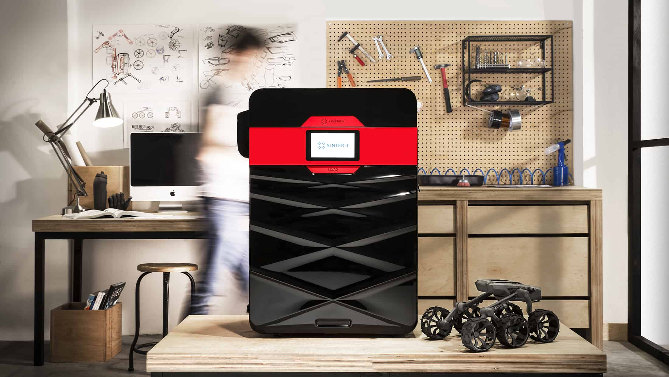 Lisa Pro SLS 3D nyomtató