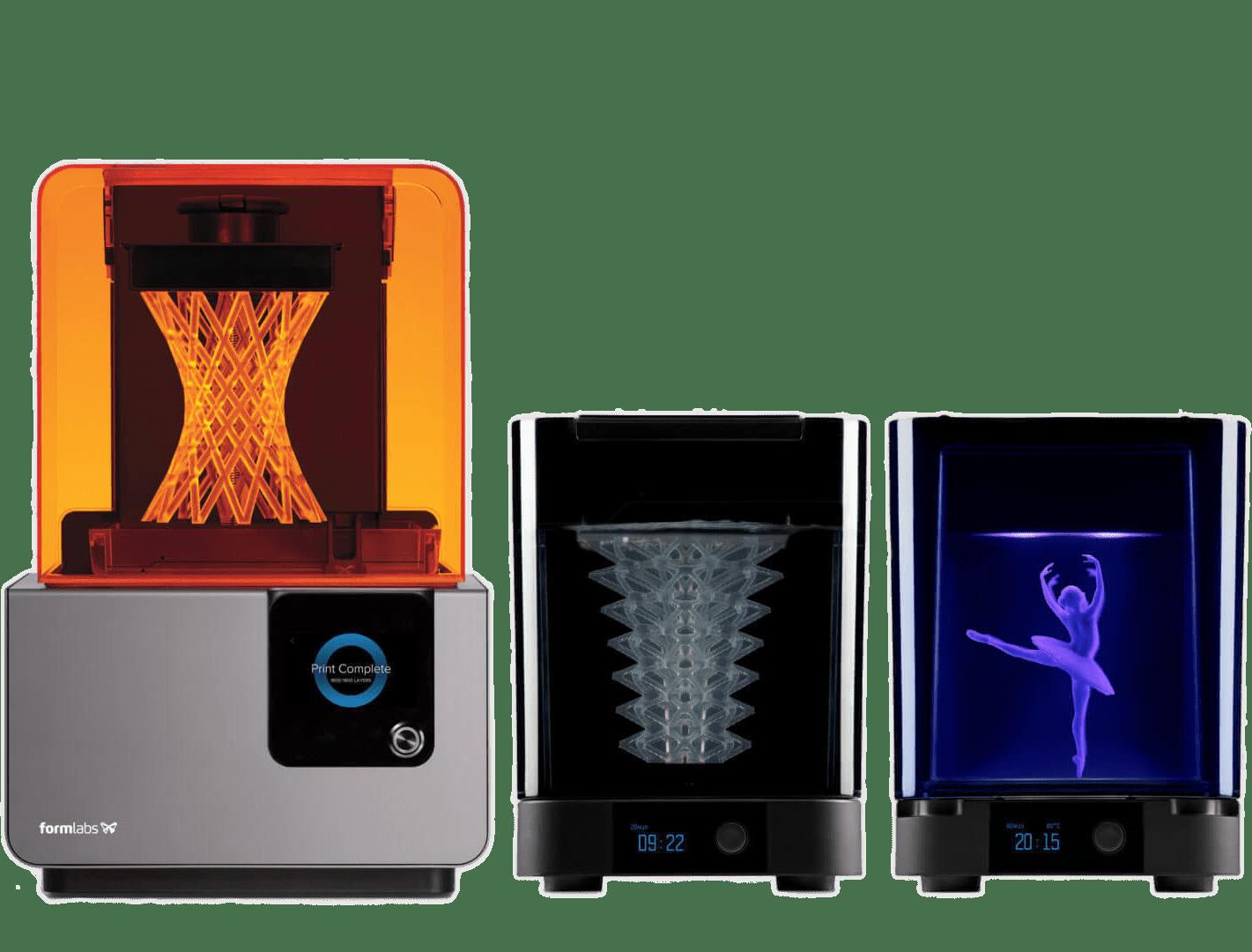 Form 2 SLA 3D nyomtató ökoszisztéma
