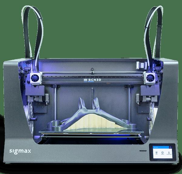 BCN3D Sigmax-R19 független kétfejes 3D nyomtató
