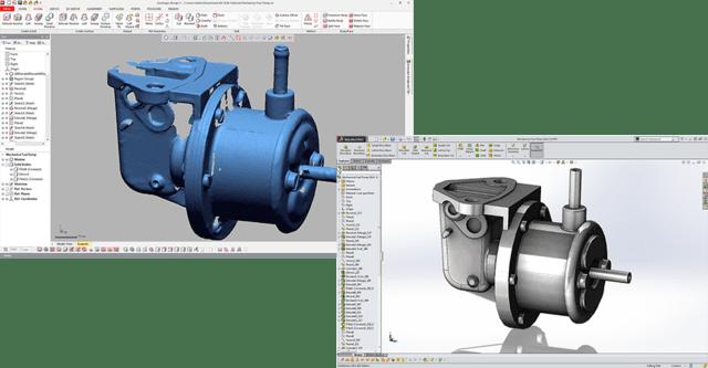 Geomagic Design X reverse engineering szoftver