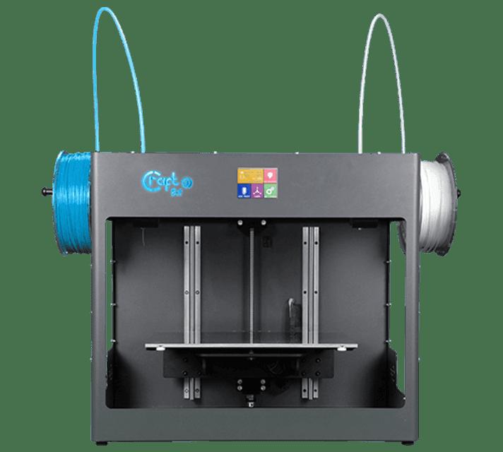 Craftbot 3 független kétfejes FDM 3D nyomtató