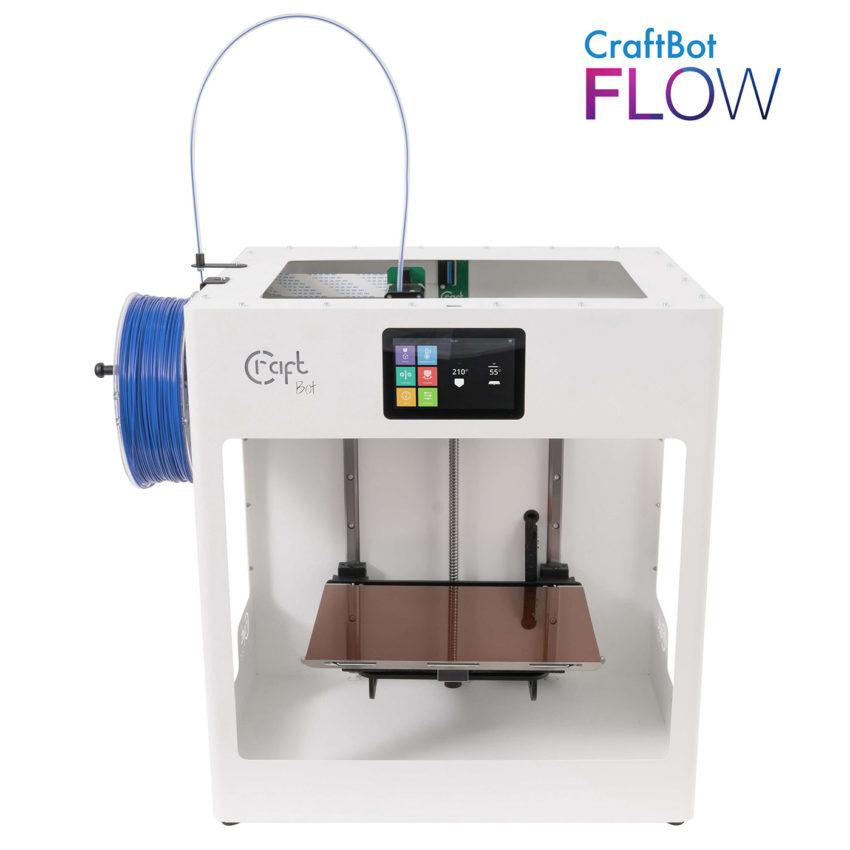Craftbot Flow egyfejes 3D nyomtató