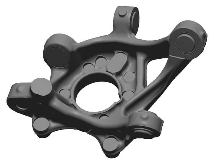 Egyszerűsített CAD modell