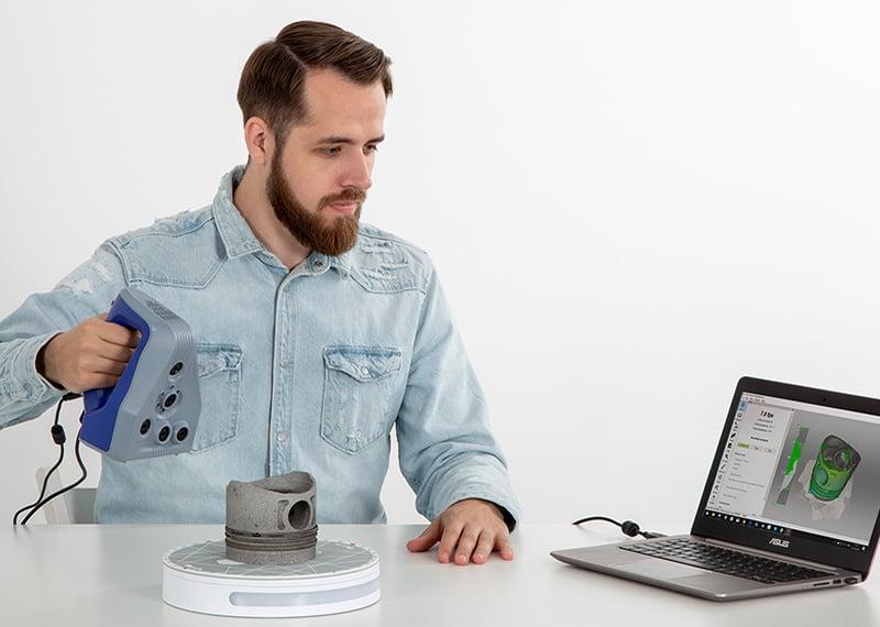 Alkatrészpótlás 3D szkenneléssel és nyomtatással - webinár