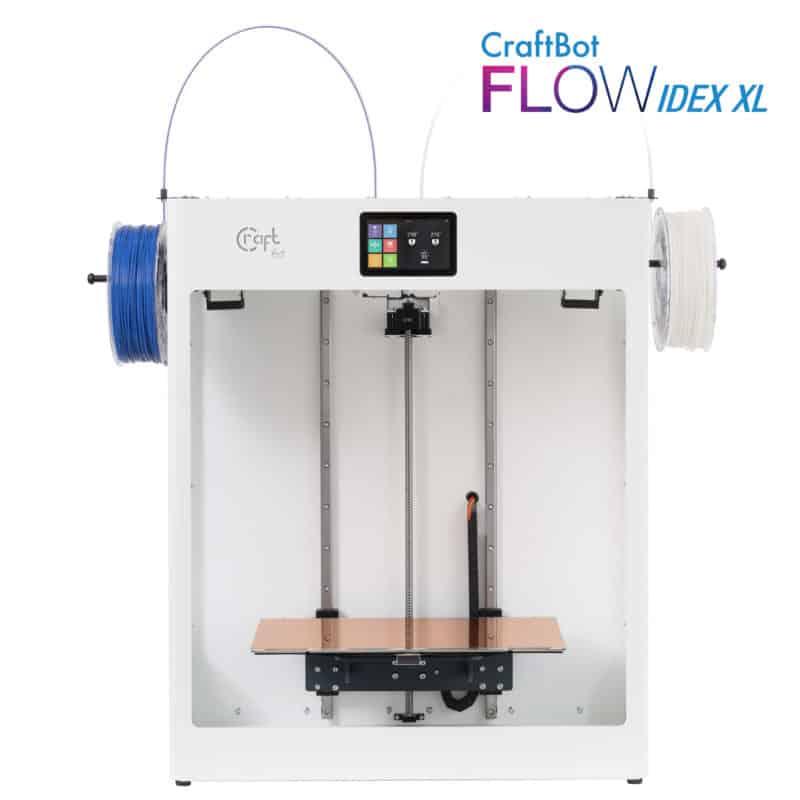 CraftBot FLOW IDEX XL nagyformátumú 3D nyomtató