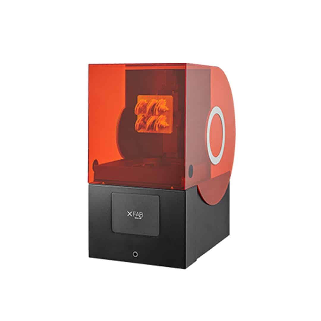 DWS XFAB 3500SD precíz, asztali SLA 3D nyomtató ipari alapanyagokkal