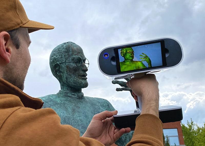 Bemutatkozik az Artec Leo, vezetéknélküli és gyors 3D szkenner - webinár
