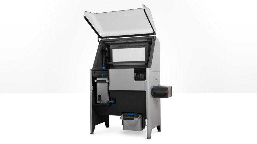 Fuse Sift SLS nyomtatás utómunka állomás